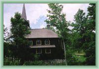 Javorina - Kościoł